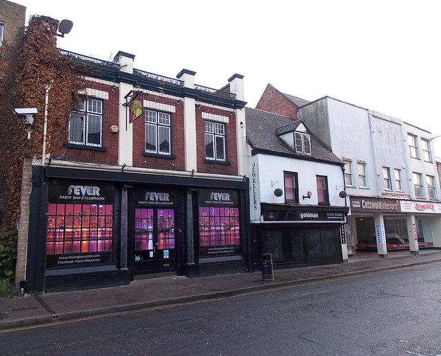 Fever in Eastgate Street, Gloucester