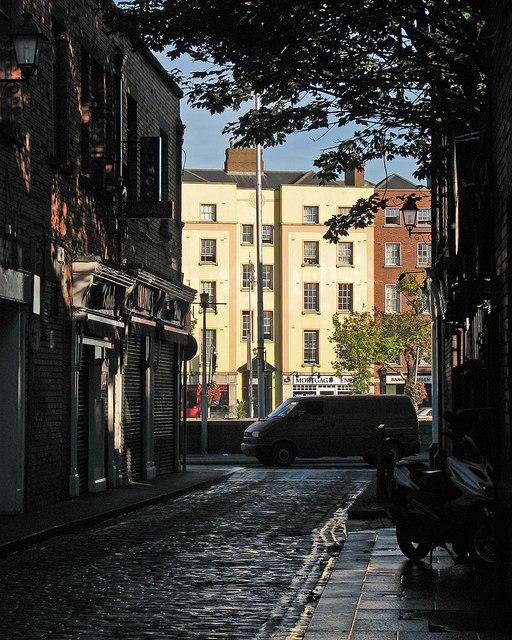 Across the Liffey from Asdills Row