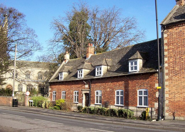 The almshouses in South Street, Bourne, Lincolnshire
