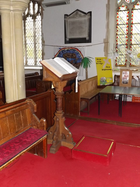 Lectern of St.Peter's Church