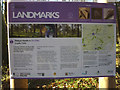 SD6351 : 'Landmarks' information board, Langden Intake by Karl and Ali