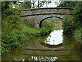 SJ8965 : Lomas Bridge south-east of North Rode, Cheshire by Roger  Kidd