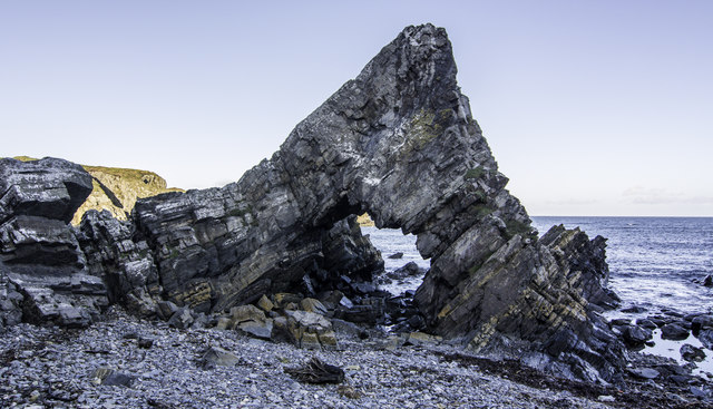 Natural Arch in Loch Craig