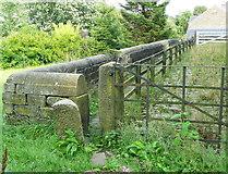 SE0026 : Stile on Hebden Royd FP43 at Hawks Clough by Humphrey Bolton