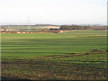 NT4164 : Dodridge Farm and an old barn by M J Richardson