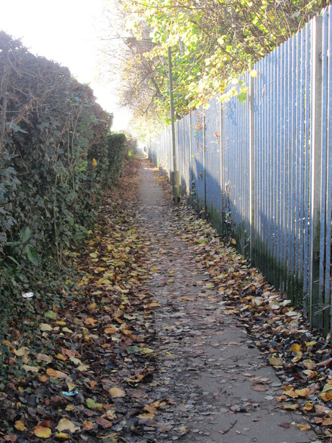 Footpath - Thornes Road