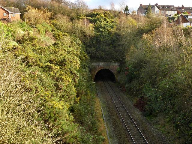 Kirkby Tunnel, west portal