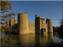 TQ7825 : Bodiam Castle by Matthew Chadwick