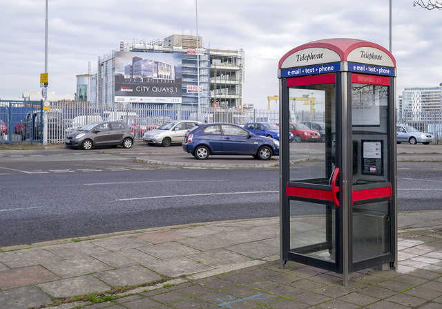 Telephone box, Belfast