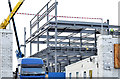 J3272 : The new Railway Stand, Windsor Park, Belfast - December 2014(2) by Albert Bridge