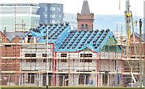 J3272 : New houses, The Village, Belfast - December 2014(2) by Albert Bridge
