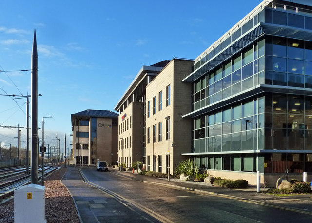 Offices in Haymarket Yards