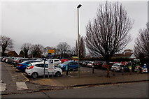 SU5290 : Edinburgh Drive pay & display car park, Didcot by Jaggery