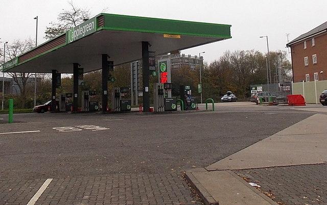 Applegreen filling station, Swindon