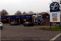 SU1585 : Kwik Fit, Swindon by Jaggery
