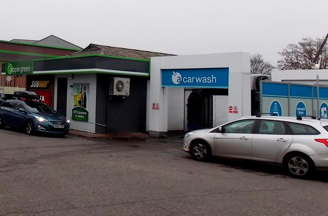 Applegreen car wash, Great Western Way, Swindon