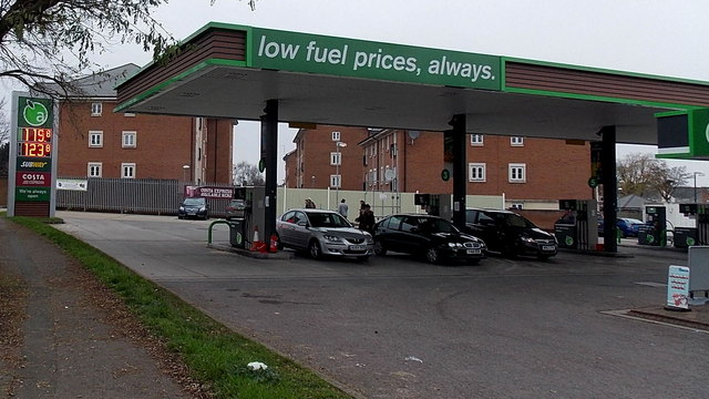Low fuel prices, always, in Swindon