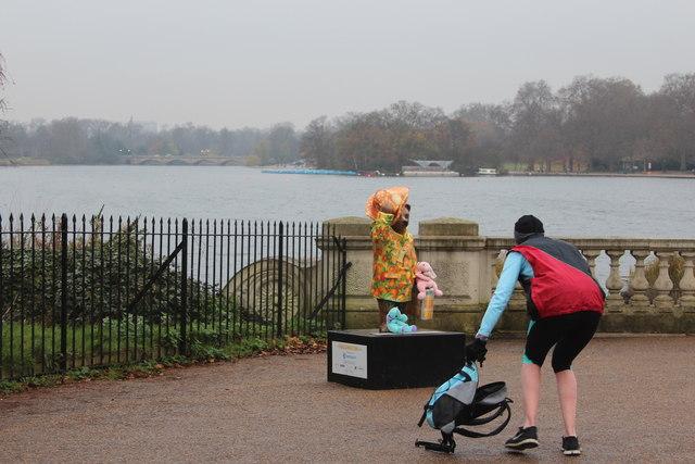 """The Journey of Marmalade"", Paddington Bear, Hyde Park"