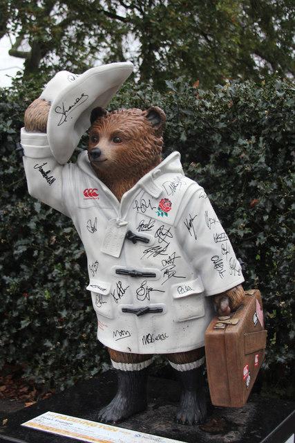 """Paws Engage"", Paddington Bear, Hyde Park Italian Gardens"