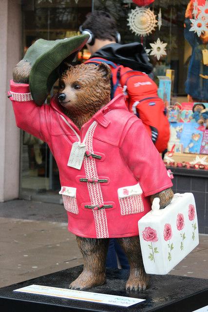 """Dapper Bear"", Paddington Bear, Notting Hill Gate"