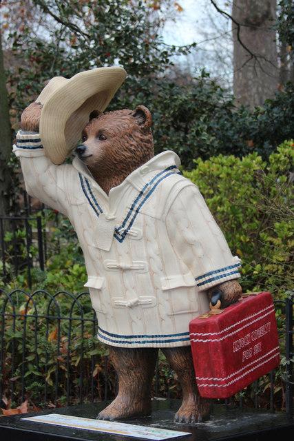 """""""Sticky Wicket"""", Paddington Bear, Regent's Park"""
