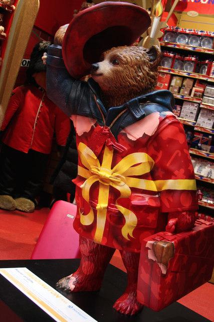 """Bearer of Gifts"", Paddington Bear, Hamley's"