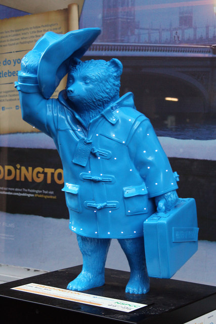 """Little Bear Blue"", Paddington Bear, Noel Street"