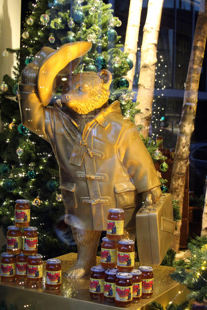 """Goldiebear"", Paddington Bear, Selfridges"