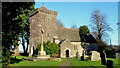 ST3794 : St. Andrew's church, Tredunnock by Jonathan Billinger