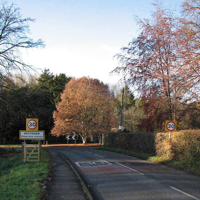 Bottisham: please drive carefully