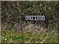 TM2189 : Mill Lane sign by Adrian Cable