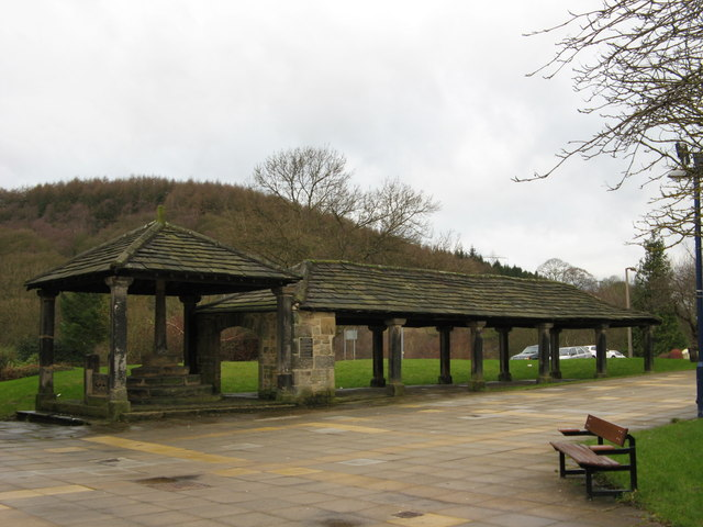 Old Market Hall, Butter Cross and Stocks