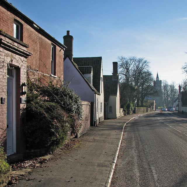 Burwell: south along High Street