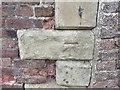 NY3058 : Ordnance Survey Cut Mark by Peter Wood
