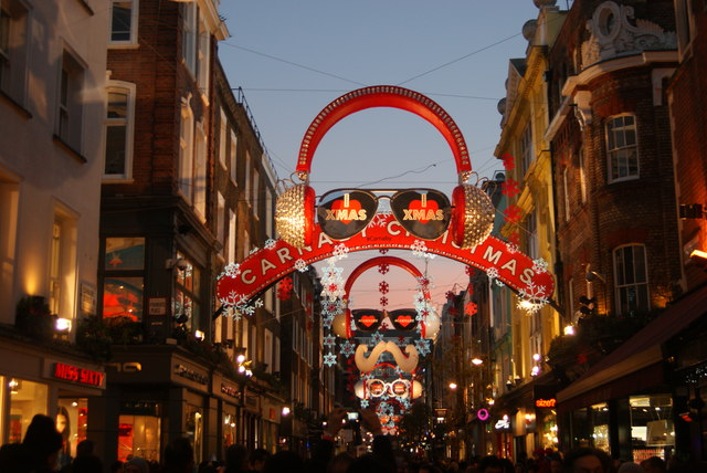 View back down Carnaby Street #2