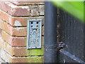 TL6660 : Ordnance Survey Flush Bracket 1374 by Peter Wood