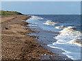 TF6535 : High tide at Heacham South Beach by Mat Fascione