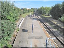 SJ8993 : Reddish South railway station, Greater Manchester by Nigel Thompson
