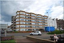 TQ7407 : Seafront flats by N Chadwick