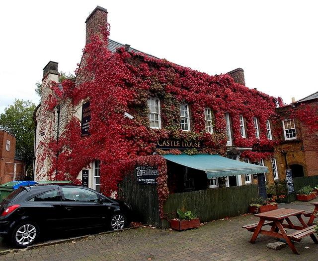 Ivy-clad Castle House, Banbury