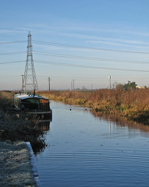 Burwell: moorings at the end of the lode