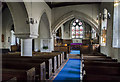 TQ7213 : Interior, St Laurence church, Catsfield by Julian P Guffogg