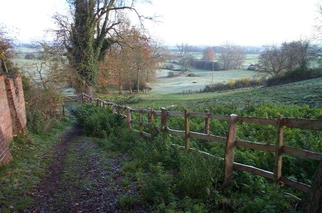 Gumley footpath