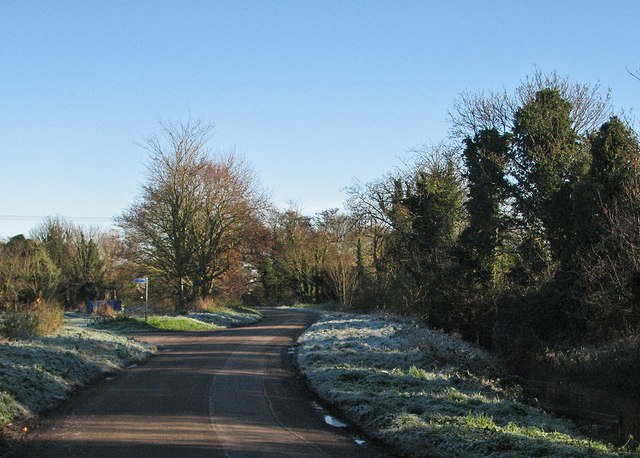 Weirs Drove on a winter morning