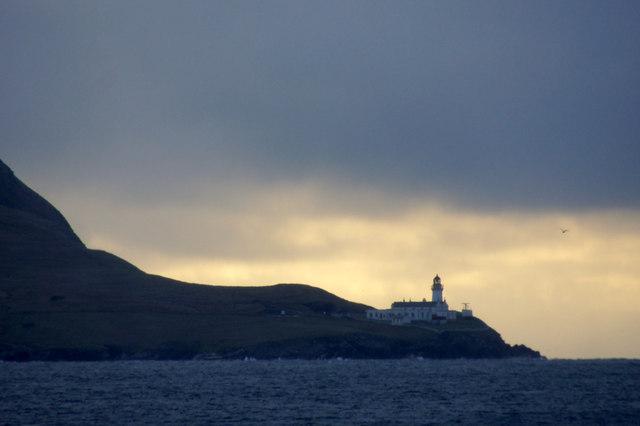 Kirkabister Ness lighthouse, Bressay