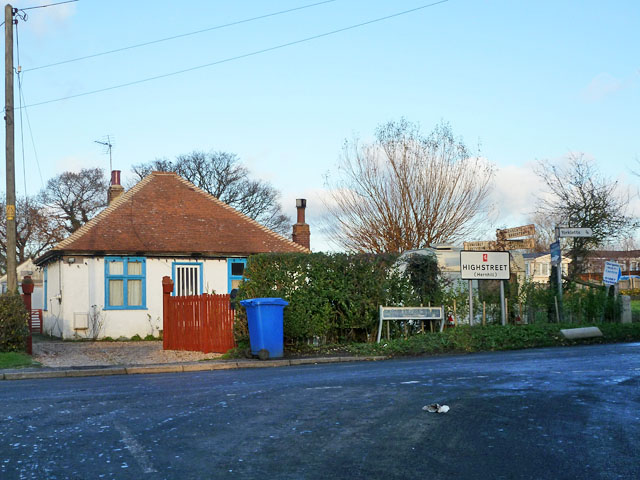Road junction, Highstreet