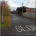 ST2994 : Slow down - elderly people may be crossing Star Street, Cwmbran by Jaggery