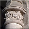 SX6942 : Capital, Church of All Saints, South Milton by Derek Harper