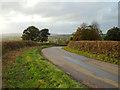 SP0475 : A viewpoint on Lea End Lane below Forhill by Robin Stott