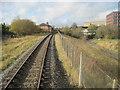 SD8010 : Bury Knowsley Street railway station (site), Lancashire by Nigel Thompson
